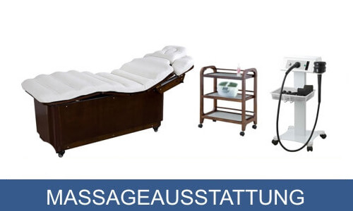 Massageausstattung bei KF-Cosmetic.